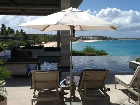 Four Seasons Resort and Residences Anguilla:                   Viceroy Resort pool view
