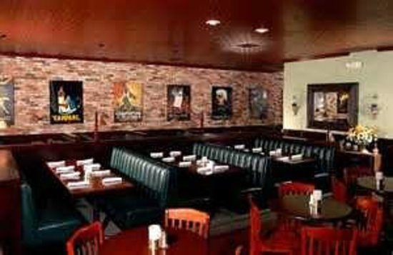 Nic's Italian Steak & Crab House:                   seating area, also some more private booths.