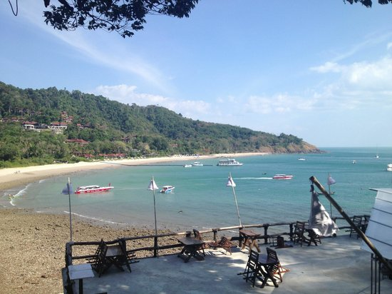 Lanta Marine Park View Resort:                                                       The view from the restaurant area