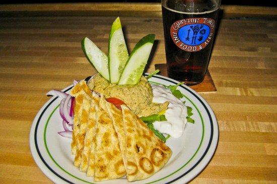 Hummus Appetizer @ Gunflint Tavern