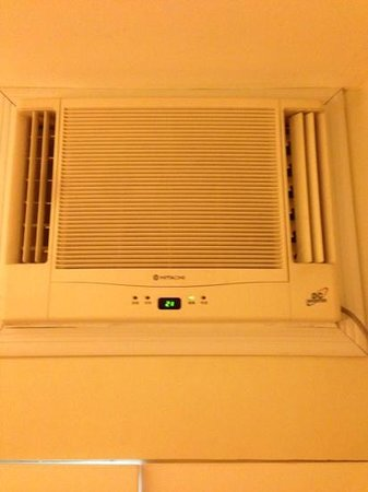 One Pacific Place Serviced Residences: aircon