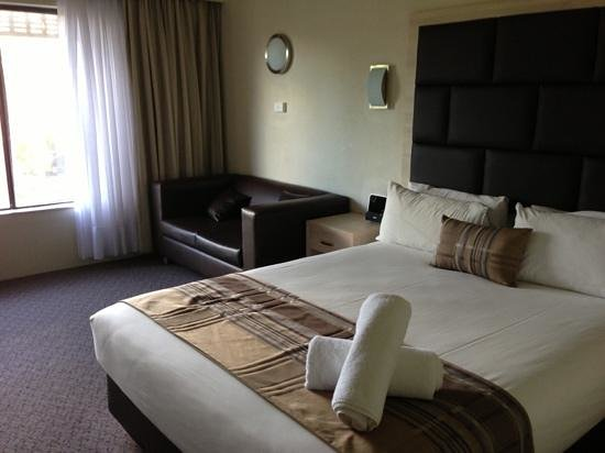 Best Western Plus Garden City Hotel :                   neat and tidy