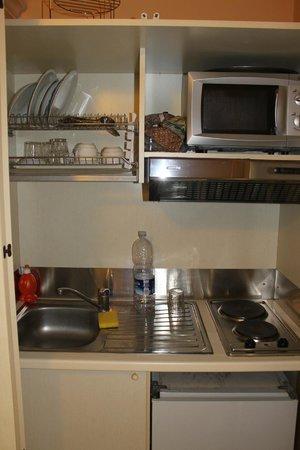 Le Plejadi:                   Mini kitchen