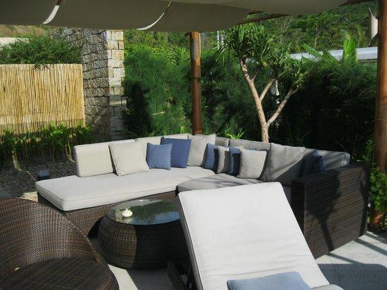 Mia Resort Nha Trang: Sitzecke in den Cliff-Villen