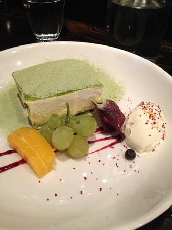 Kinji Japanese Restaurant:                   Must try Green Tea Tiramisu