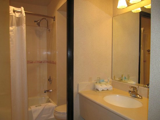 Fairfield Inn & Suites Los Angeles Rosemead: bathroom