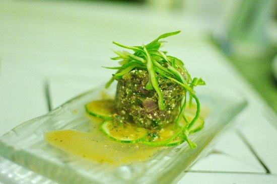 Suay Restaurant:                   Larb Tuna - Spicy Tuna Salad North Eastern Style