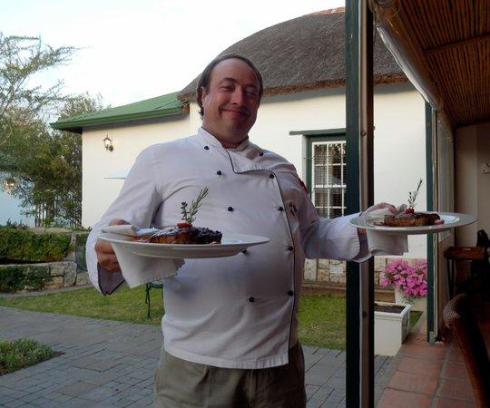 De Doornkraal Historic Country House Boutique Hotel:                   Good cook