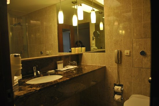 Swissotel The Stamford Singapore: Big bathroom
