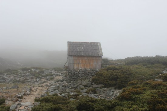 Wilderness Expeditions Tasmania Pty Ltd:                   One of the old, heritage huts
