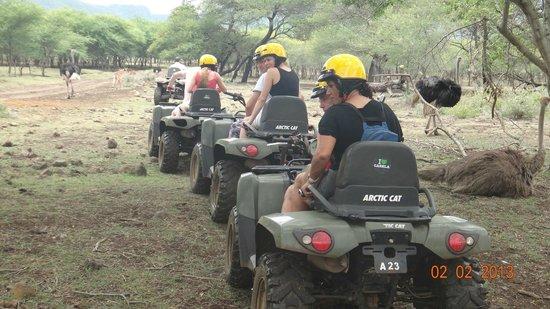 Maritim Resort & Spa Mauritius:                   Quad Biking at La Casela - A Must!