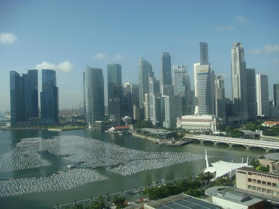 Mandarin Oriental, Singapore: view from my room