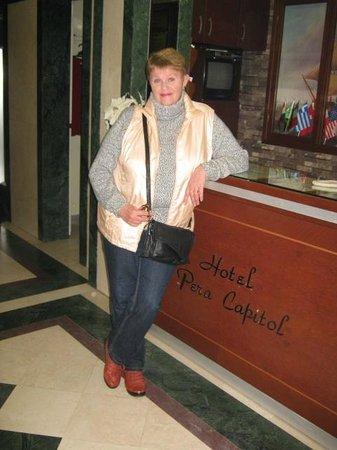 Hotel Pera Capitol: thank you, Pera Capitol!