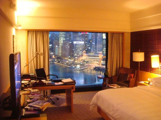 Mandarin Oriental, Singapore: Harbour view room