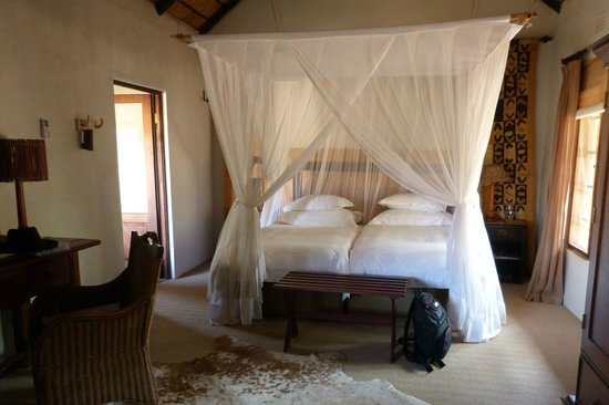 Motswari Private Game Reserve:                   Chambre
