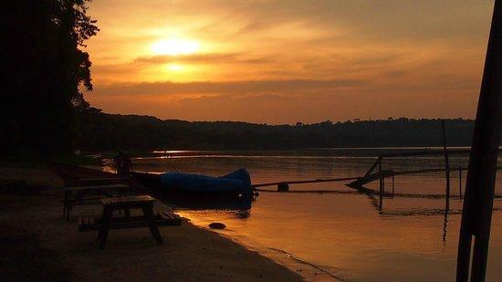 Sesse Islands : Sonnenuntergang