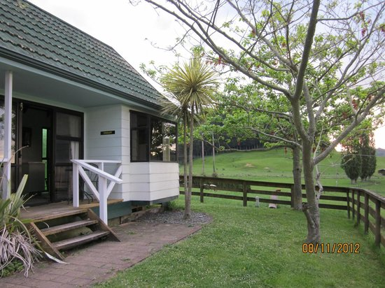 Waitomo Big Bird Bed & Breakfast: The self-contained chalet