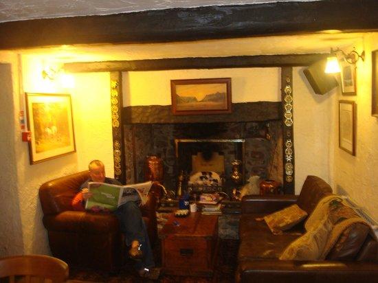 Blue Ball Inn:                   Snuggery area