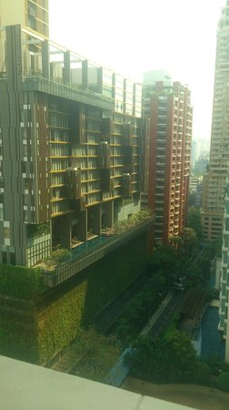 The St. Regis Bangkok: View from the suite. Not so cool..