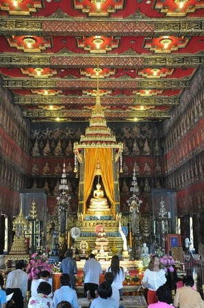Nationalmuseet i Bangkok: in the Wat