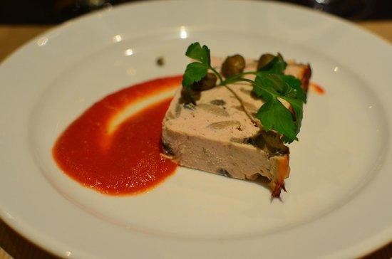 Hotel des Sources :                   great food