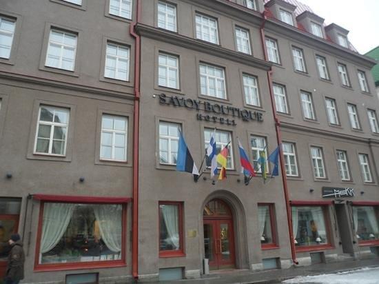 Savoy Boutique Hotel: hotel !!!