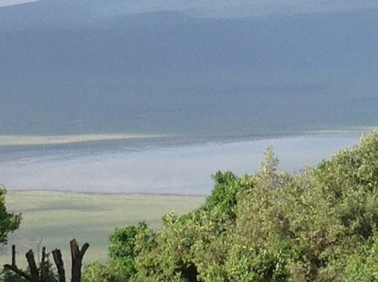 andBeyond Ngorongoro Crater Lodge:                   our view from our room