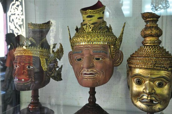 Nationalmuseet Bangkok: Masked dance