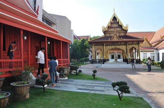 Найиональный музей Бангкока: surroundings