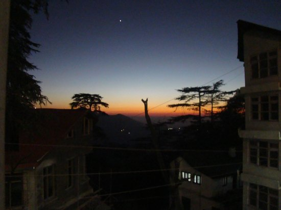 Hotel Himland East Shimla: View from balcony