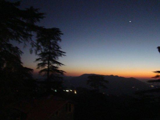 Hotel Himland East Shimla : View from balcony