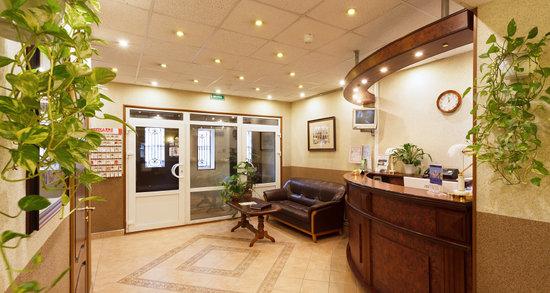 Hotel Regina: Reception