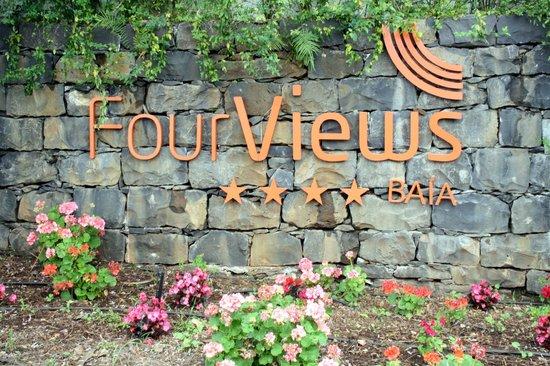 Four Views Baia:                   Entrada do hotel