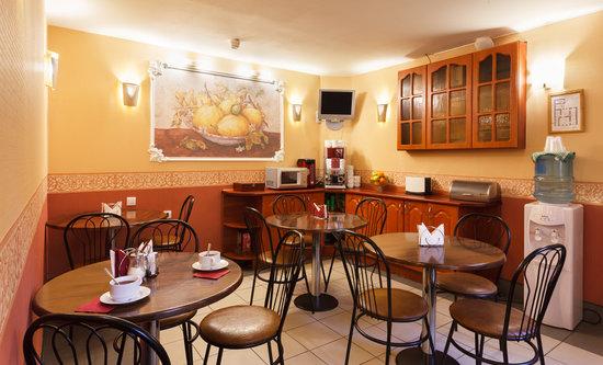 Hotel Eurasia : Room for breakfast