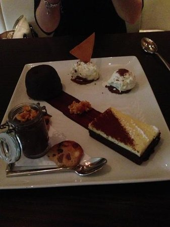 Asador:                   most amazing dessert I have had in a long time