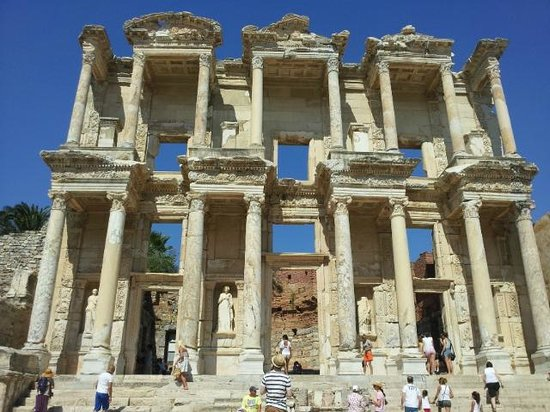 Ancient City of Ephesus: Ephesus - Library - Return your overdue books here!