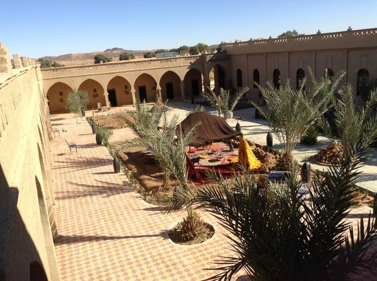 Hotel Nomad Palace:                   The Courtyard