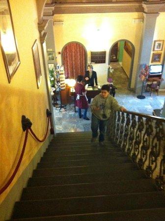 Hotel Villa Liana:                   scala interna