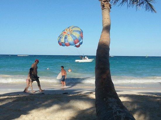 Grand Bahia Principe Punta Cana:                                     пляж                                  