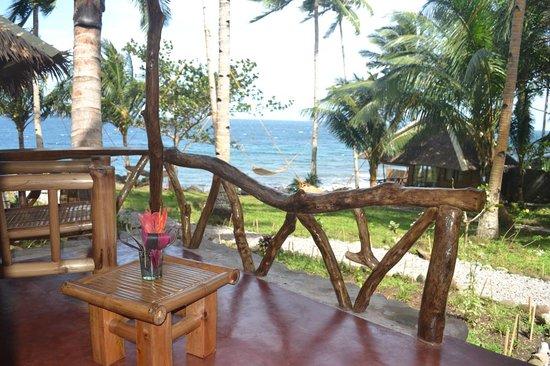 Camiguin Volcan Beach Eco Retreat & Dive Resort: Views from Deluxe Room Terrace