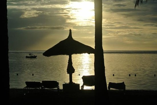 Sugar Beach Golf & Spa Resort:                   Sunset