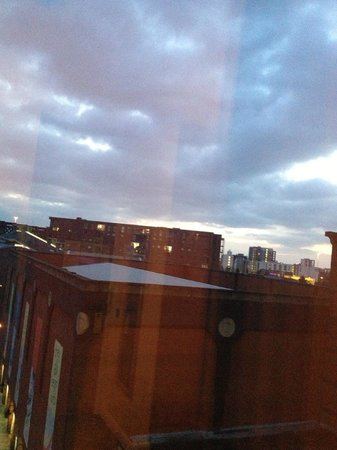 Castlefield Hotel:                   The View
