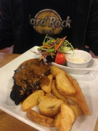 Rustlers Steakhouse and Grill :                   the 16 Oncer