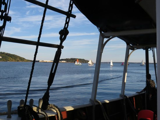 Wanderbird Expedition Cruises:                   Lunenberg, Nova Scotia