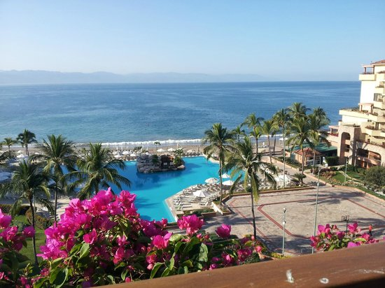Marriott Puerto Vallarta Resort & Spa:                   View from our room - just beautiful.