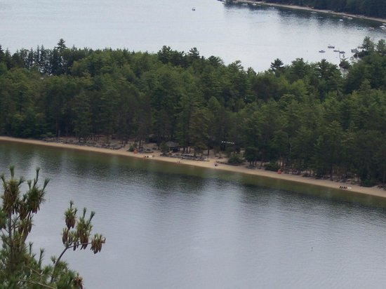 A view of Wellington State Park from Little Sugarloaf mountain