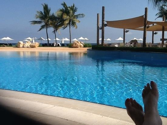 Shangri La Barr Al Jissah Resort & Spa-Al Bandar:                   al Bandar pool