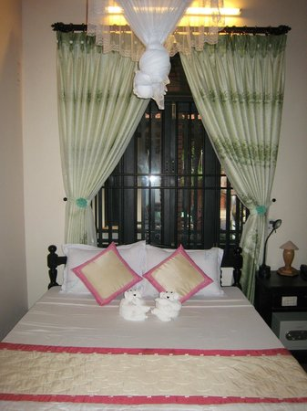 Betel Garden Villas:                   comfortable bedrooms