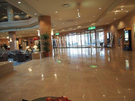 Rihga Royal Hotel Niihama:                   ロビーです