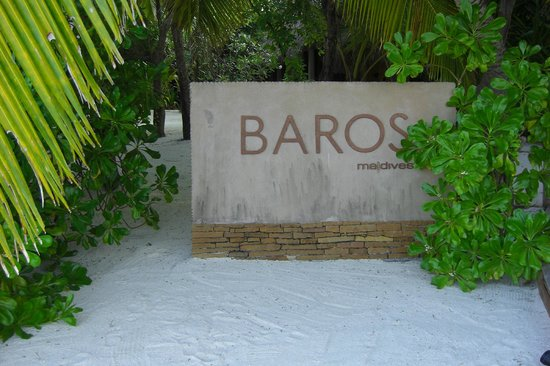 Baros Maldives:                   Arrival on the island - the idyll begins